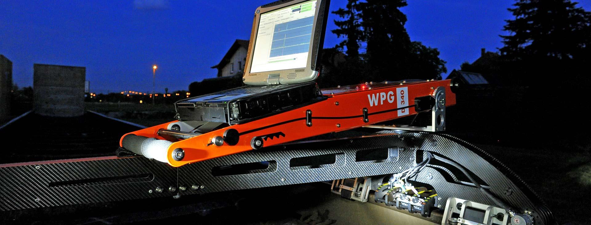 ローマン社製渦流探傷装置