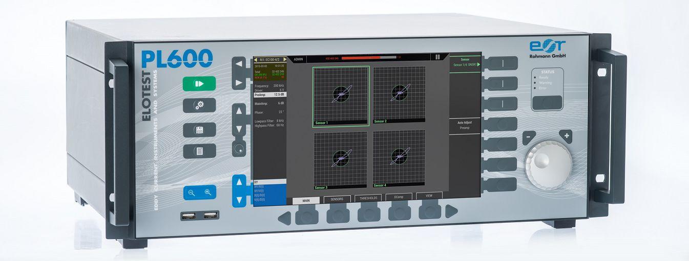 自動渦流探傷装置PL600